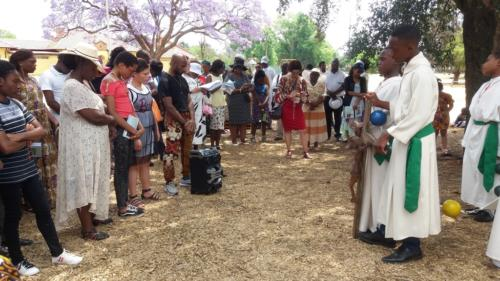 Rosary at Lake - St Patrick's La Rochelle - Mission Month (50)